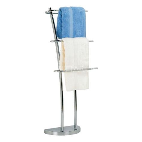 sagittarius geneva free standing towel rail chrome ac