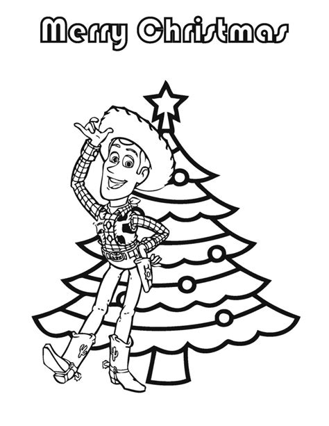 toy story christmas coloring page h m coloring pages