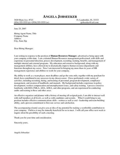 cover letter for casual outstanding cover letter exles hr manager cover