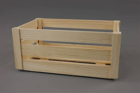 big crates wooden crate plain wood decoupage crates big make it vintage pd31 ebay