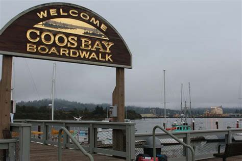 coos bay boat building center oregon coast beaches boardwalks part ii walking in