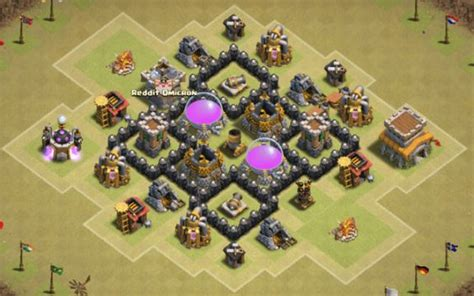 home village layout th4 the best clash of clans layouts for farming and defense