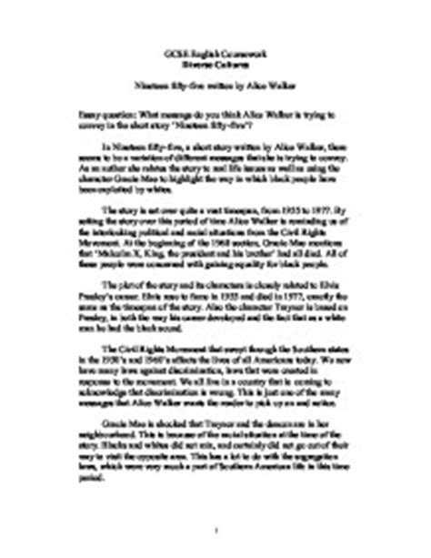 Walker Essays by The Flowers By Walker Essay Writefiction581 Web Fc2