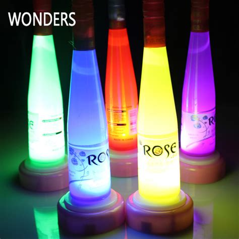 bottle service led lights 2015 fashion led bottle light flashing decorative beer
