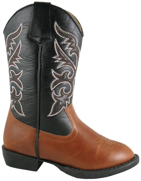 toddler boys cowboy boots smoky mountain boots toddler boys lights brown faux