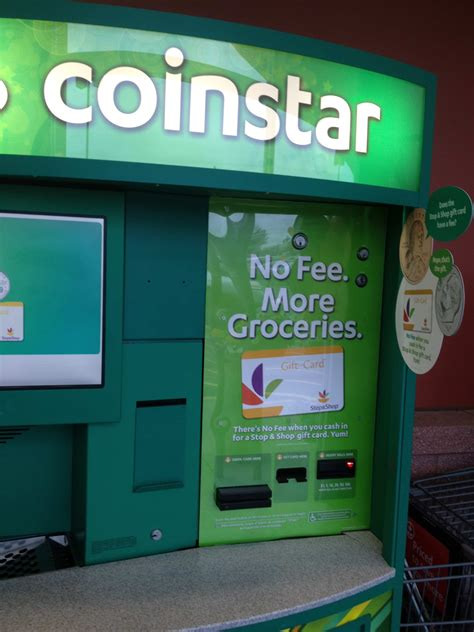 Coinstar Gift Card - coinstar will start offering no fee stop shop gift cards nofeecoinstar cbias the