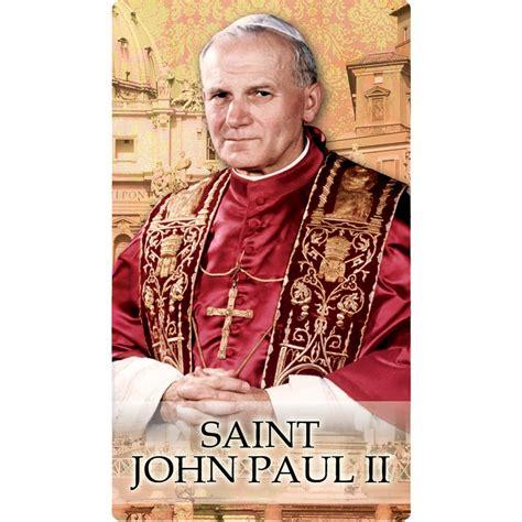 St Jp prayer to st paul ii pallottines ireland