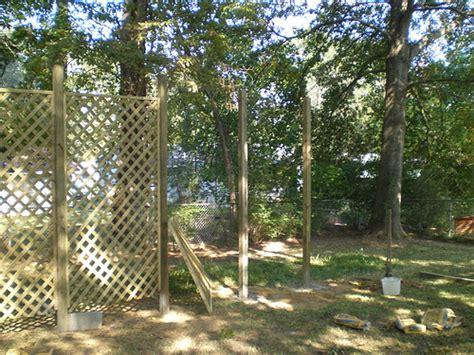 creating a lattice trellis garden at your home