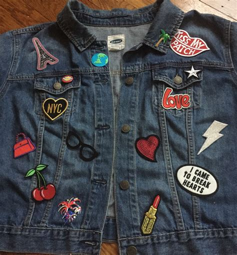 Patches Denim Size Sml diy patch denim jacket grown and curvy