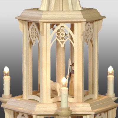gedrechselte säulen gotische pyramide gedrechselte figuren 2 st 246 ckig