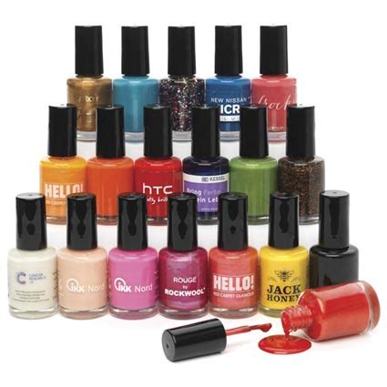 Nail Varnish by Nail Varnish Personalised Products Fast Lead Times