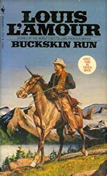 Louis L Amour Five Softbound Books Buckskin Run