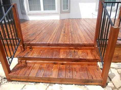 redwood deck refinish restoration staining traditional deck by petrich painting