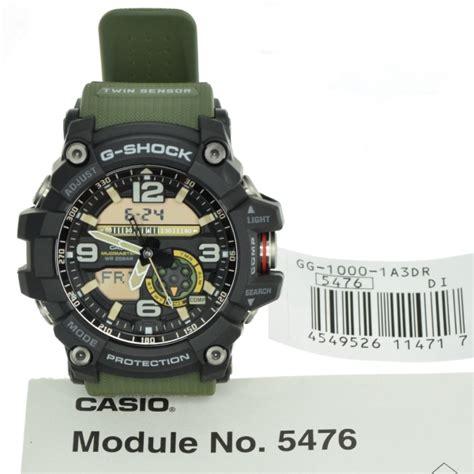 Casio G Shock Gg 1000 List Biru casio g shock gg 1000 1a3 dr mudmaster sensor digital s green ebay