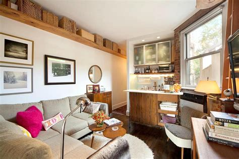 living room new york city west village loft luxury 721 000 west village apartment has a cozy floorplan with