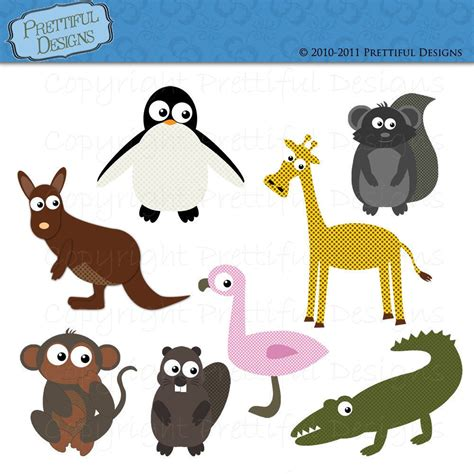 free printable zoo animal clipart clip art zoo animals clipart bay