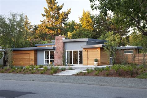 mid century modern homes exterior modern wood siding exterior contemporary with black trim