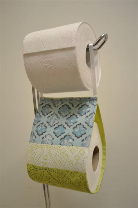 novelty toilet paper holder the decorative toilet paper holder storage with fabric green