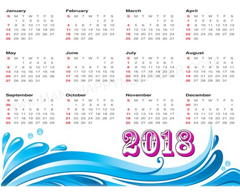 Calendar With Holidays For 2018 Indian Calendar 2018 With Holidays Free Printable