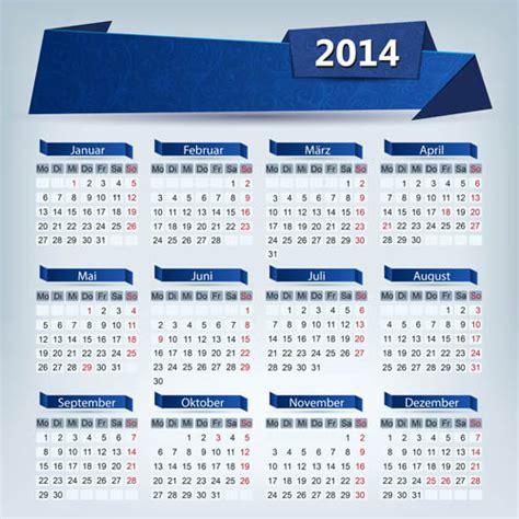 calendar design eps 2014 calendar grid vector design 01 vector calendar free