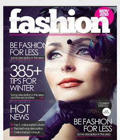 1000 images about magazine cover templates on