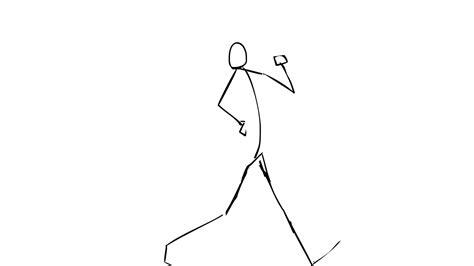 simplicity pattern dancing gif stick figure walking gif hdgifs high definition animated