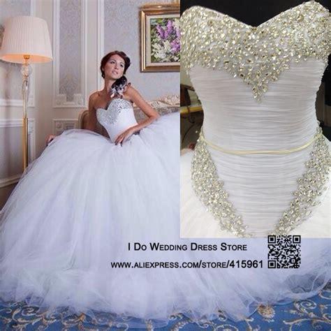 Robe De Mariée Corset Strass - robe de mari 233 e en tulle et strass