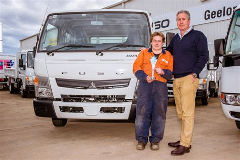 pilbara heavy haulage girls receive   trucks donated  volvo group australia power