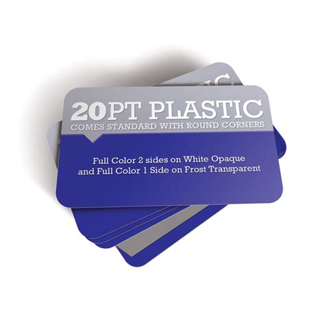 how to make plastic business cards plastic oval deluxe premium frosted business cards 1