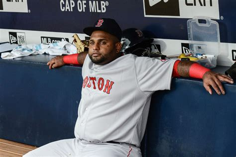 baseball players bench press red sox bench pablo sandoval after instagram incident