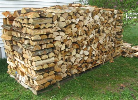 Wood Stacking Rack by How Do You Stack Your Firewood The Cook