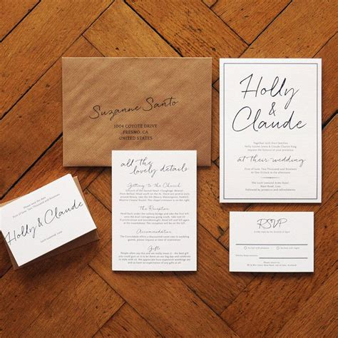 wedding invitation sets australia east coast wedding invitation set on luxury card modern handlettered wedding invite wedding