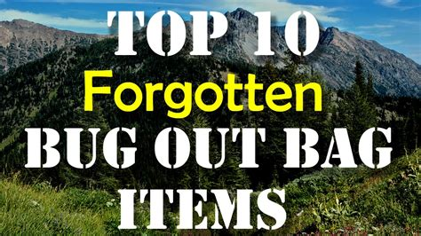 forgotten survival items the top 25 items that you forgot to add to your survival kit until now books top 10 forgotten bug out bag items