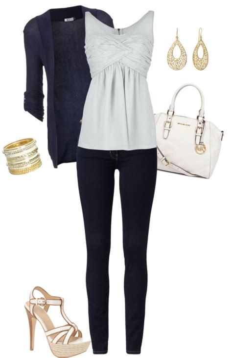 M Longcardi Twist Cardi Saja quot casual date quot by mtoomey on polyvore casual dresses stylists stitches
