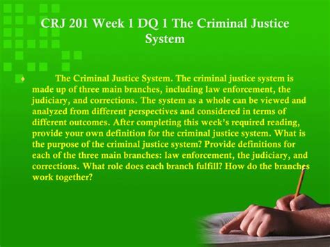Can You Serve In The With A Criminal Record Ppt Crj 201 Genius Experience Tradition Success