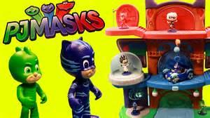 pj masks headquarters playset catboy gekko