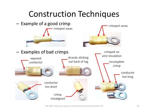 electrical wire crimping techniques wiring diagram schemes