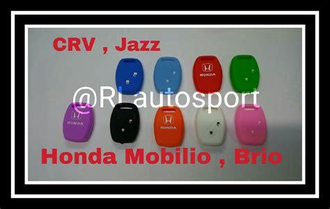 Casing Silicon Kunci Remote Jazz Mobilio Freed Brio 2 Hitam 1bh jual harga kunci casing remote silikon honda crv