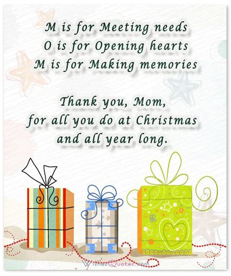 heartfelt christmas wishes  special moms  wishesquotes