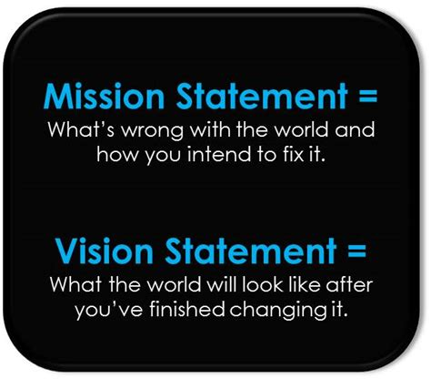 templates for vision and mission statements mission vision statement best template collection