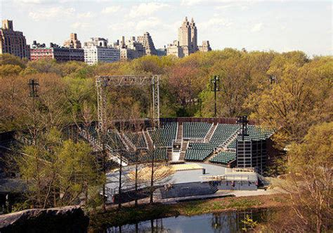 delacorte theater seating chart delacorte theater central park theaters time out new