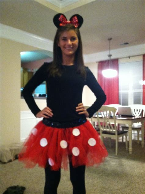Handmade Minnie Mouse Costume - minnie mouse costume disney stuff