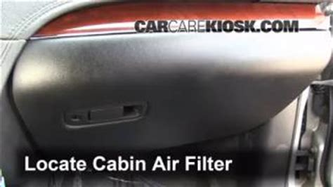 Bad Cabin Air Filter by Cabin Filter Replacement Lincoln Mkt 2010 2016 2012