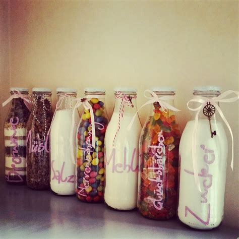 geschenk present flasche flaschengeschenk richtfest