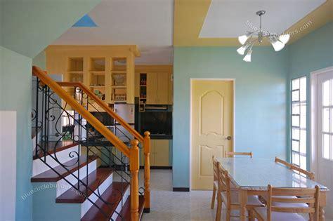 nice tiny house interior design  blue wall color