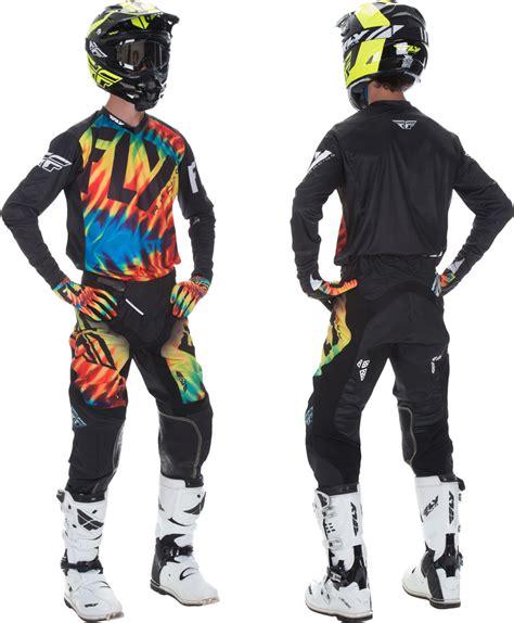 fly motocross gear fly racing lite hydrogen limited edition tie dye racewear