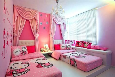 pink room decor hello bedroom decoration for grown