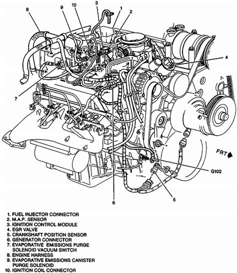 1997 5 7 vortec engine diagram get free image about