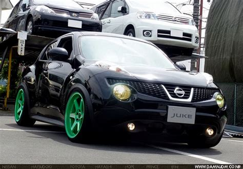 green nissan juke what do you think about this nissan juke chop alert