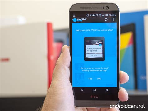 android usa usa today adds support for android wear android central